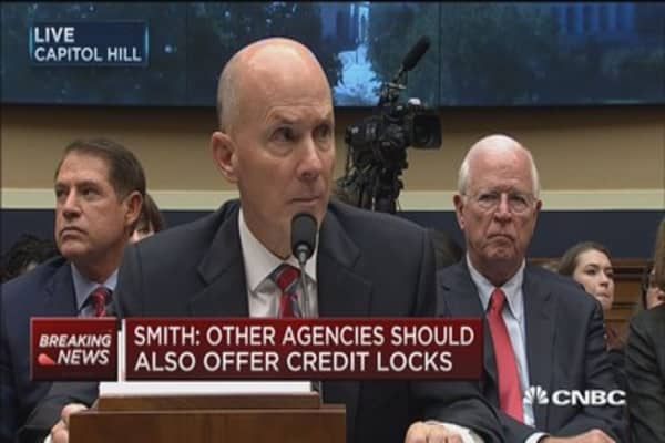 Former Equifax CEO Richard Smith: Arbitration clause was never intended to apply to breach
