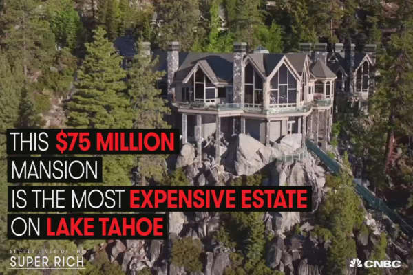 Lake Tahoe's priciest home