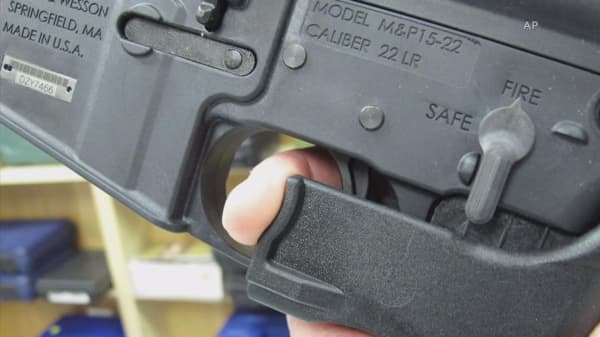 Gunman had a 'bump-stock' device