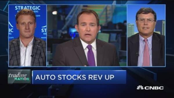 Trading Nation: Auto stocks rev up