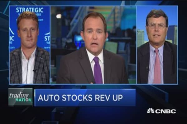 Trading Nation: Auto stocks rev up