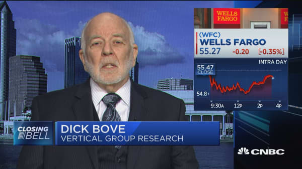 Dick Bove: Tim Sloan is doing a superb job and shouldn't be fired