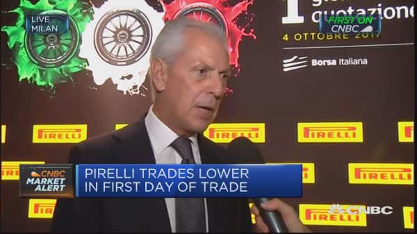 Pirelli CEO Marco Tronchetti Provera on IPO