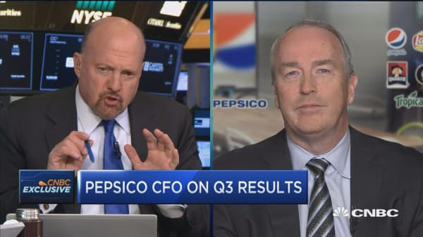 Pepsico CFO Hugh Johnston: North America beverage is clearly a challenge
