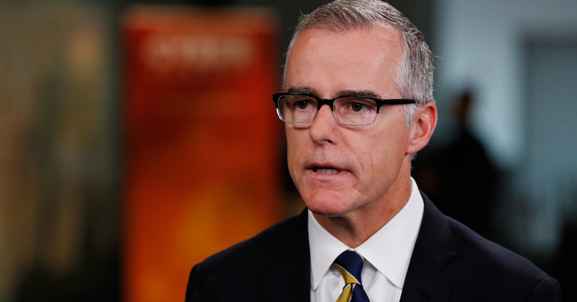 Andrew McCabe: No one in Gang of 8 objected to FBI probe of Trump