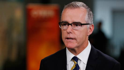 Andrew McCabe, Deputy Director, F.B.I. speaking at the 2017 Cyber Summit in Cambridge, MA on Oct. 4th, 2017.