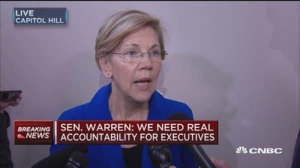 Sen. Elizabeth Warren: It is Congress' duty to make gun law changes, not be held hostage by NRA