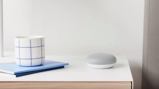 The new Google Home Mini
