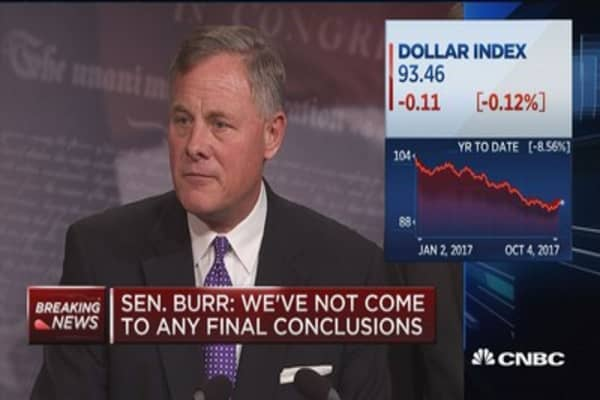 Sen. Richard Burr: Committee continues to look at all evidence involving collusion