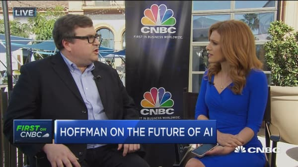 LinkedIn co-founder Reid Hoffman: We're in the early days of artificial intelligence
