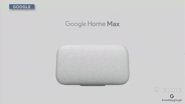 Google unveils new smart speaker, the Google Home Max