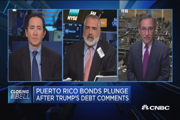 Closing Bell Exchange: Puerto Rico bonds plunge