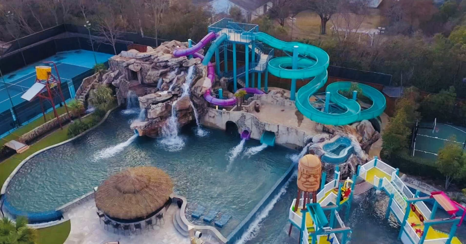28 Million Dallas Mansion Comes With Haunted Water Park