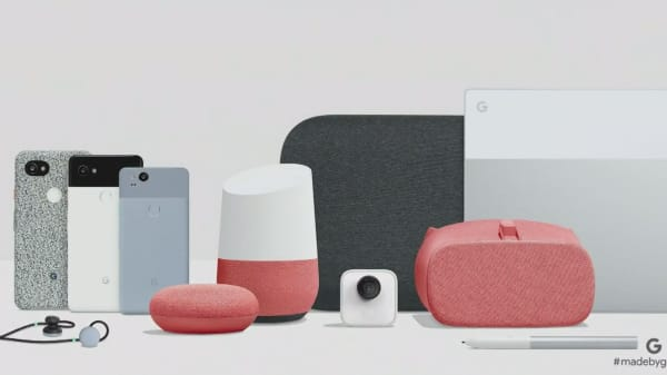 Google just announced a new phone, computer, home speaker and more