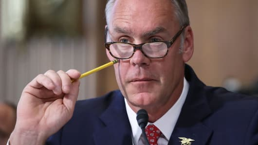 Interior Secretary Ryan Zinke
