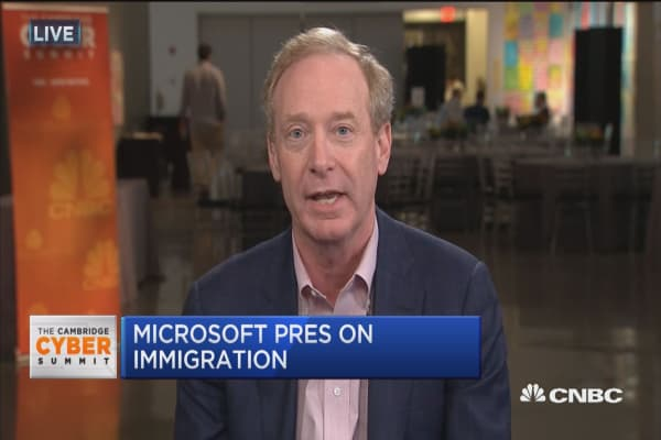 Microsoft's Brad Smith on tax reform: We can make good business decisions free of decades old tax rule