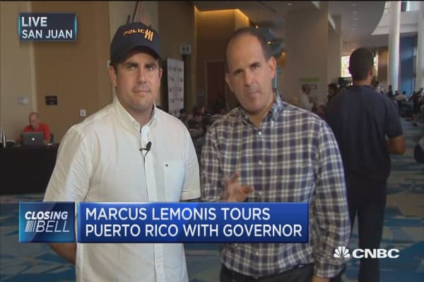 'The Profit' host Marcus Lemonis tours Puerto Rico with governor