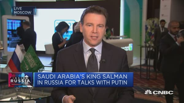 Saudi King Salman visits Russia in OPEC meeting
