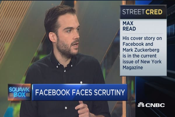 Facebook's massive size makes it easy to 'manipulate': NY Magazine's Max Read