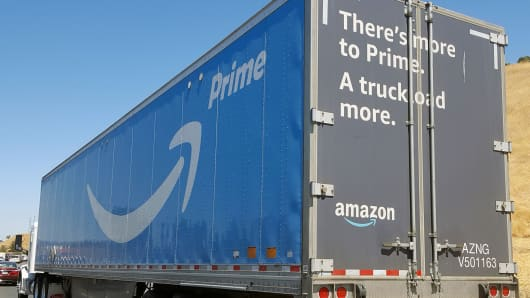 Amazon testing its own delivery service for some products