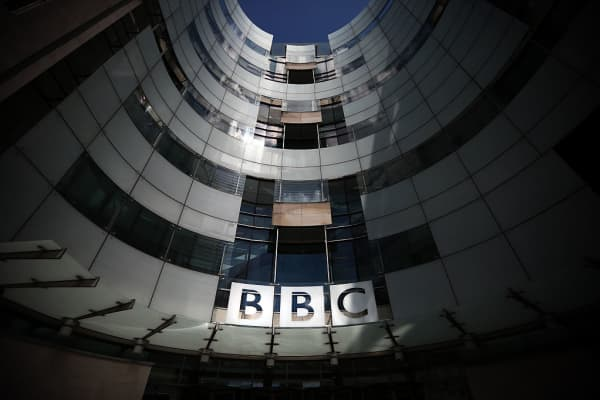 The BBC's Broadcasting House in London