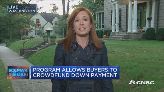 Crowdfunding your way into home ownership. Here's how