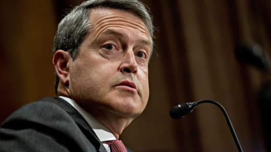 Randal Quarles, governor of the U.S. Federal Reserve nominee for U.S. President Donald Trump.