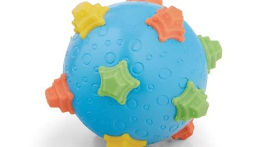 Toys R Us recalls infant Wiggle Balls for choking hazard.