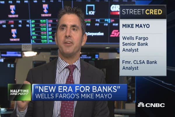 Wells Fargo's Mike Mayo: New Fed governor will mean 'new era for banks'
