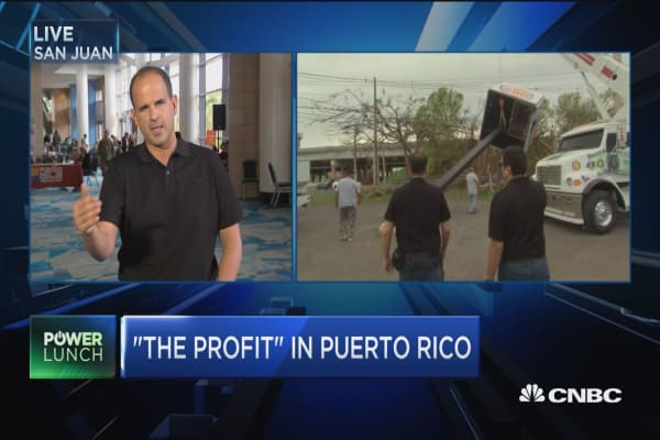 No signs in relief in some parts of Puerto Rico