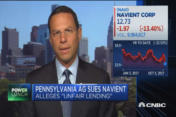 PA Attorney General: I could care less about their stock prices, I care about student loan holders