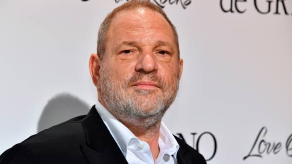 Film producer Harvey Weinstein.