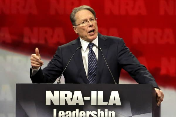NRA Executive Vice President Wayne LaPierre.