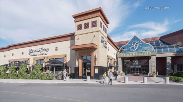 Mall owner rebrands itself to escape 'retail apocalypse' narrative