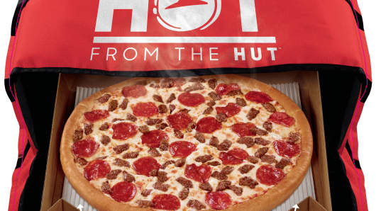 Pizza Hut's hot new delivery box