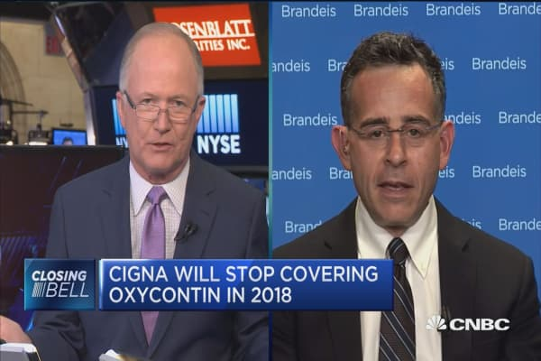 Cigna is creating incentive to keep opioid doses low: Dr. Andrew Kolodny