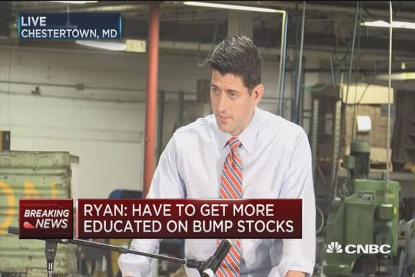 House Speaker Ryan: We need a comprehensive Iran strategy