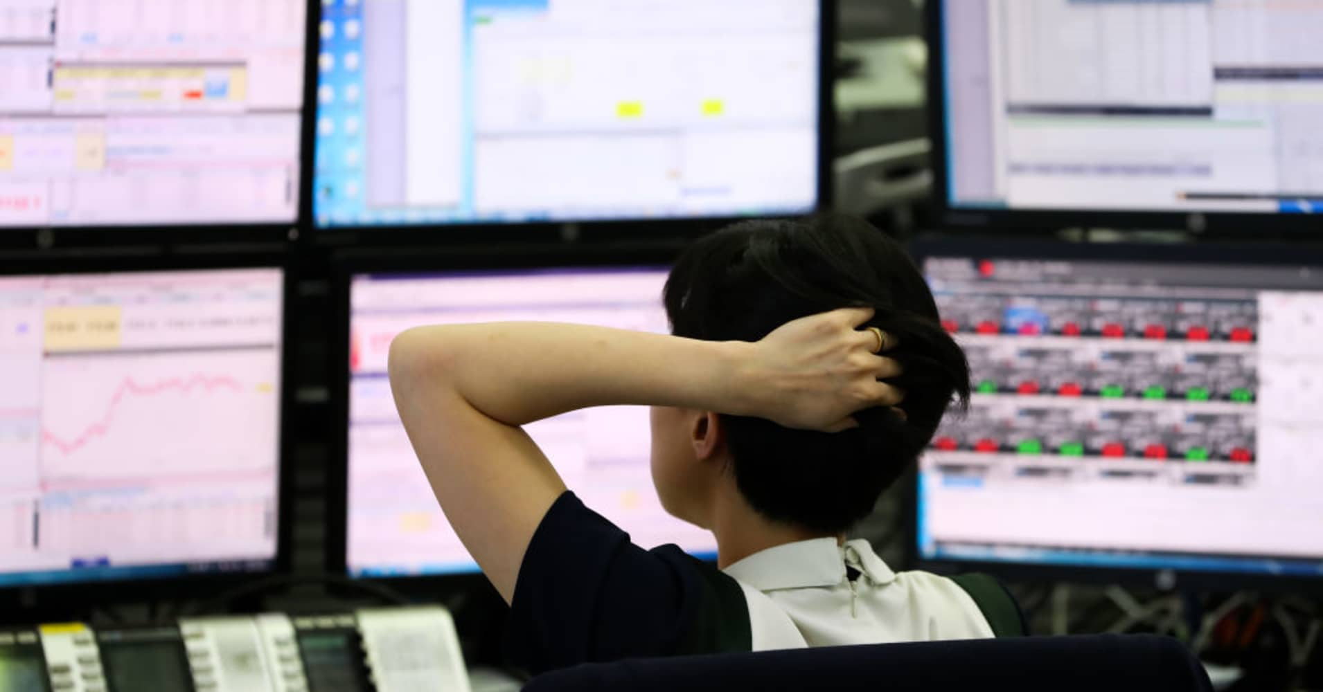 Asia Pacific markets fall as investors react to China's trade data