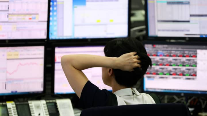 Image result for Asia Pacific markets fall as investors react to Chinese trade data