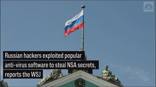WSJ: Russian hackers exploited popular anti-virus software to hack NSA