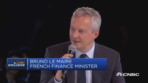 Big US tech firms pose tax challenge, French finance minister says