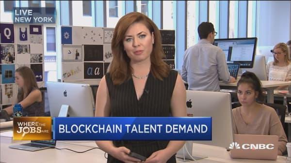 Where the jobs are: Blockchain
