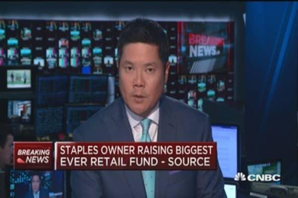Staples owner raising biggest ever retail fund: Source