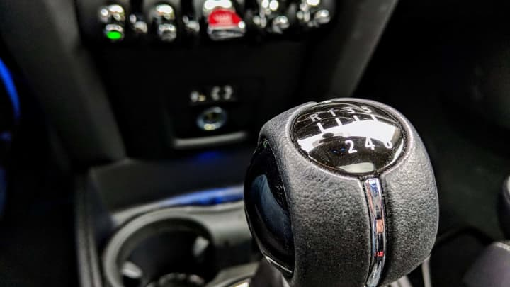 The Countryman's manual shifter
