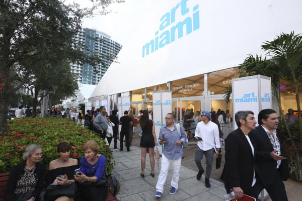 Art Basel Miami on December 02, 2016