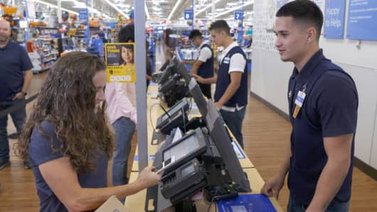 Walmart Mobile Express returns.