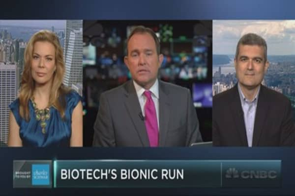Can the bionic biotech rally continue?