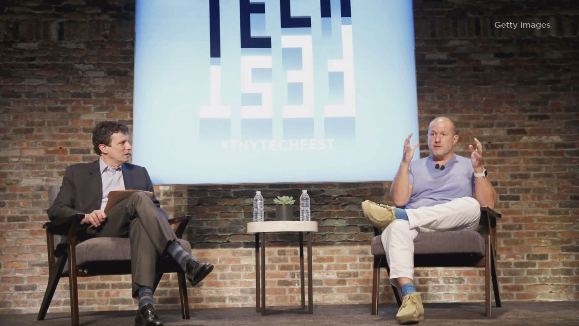 Apples Jony Ive Speaks About Design At The New Yorker Techfest