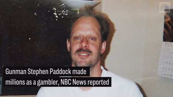 NBC: Las Vegas gunman earned millions as a gambler