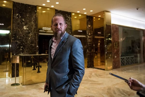 Brad Parscale, who was the Trump campaign's digital director, at Trump Tower in November 2016